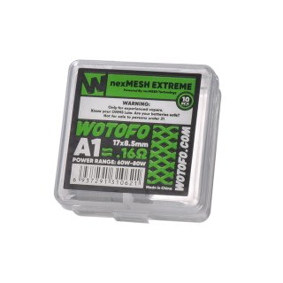 Wotofo nexMESH Extreme A1 Coil 0,16 Ohm (10 Stück pro Packung)
