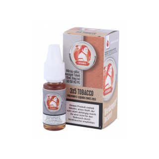 hisVape 3x5 Tobacco Blend Smooth - E-Zigaretten Liquid 6 mg/ml